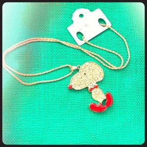 Disney Snoopy Sweater Necklace💍